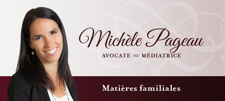 Michèle Pageau Médiatrice Logo